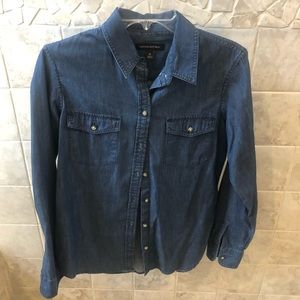 Banana Republic Denim Button Down Shirt